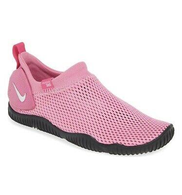 NWT Nike Aqua Sock 360 GS Slip On Water Shoe Psychic Pink / 7 .