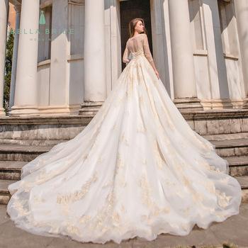 Bella Bride Guangzhou designer pakistani wedding dresses gowns .