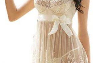 Amazon.com: FRCOLT Womens Wedding Lingerie Bridal Mesh Lace .