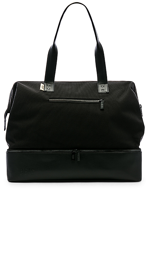 BEIS The Weekend Bag in Black | REVOL