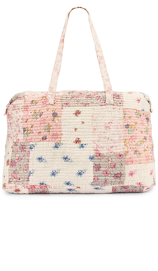 LoveShackFancy Oran Weekend Bag in Multi | REVOL