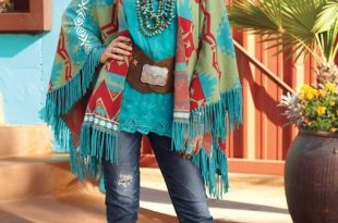 Tribal Southwestern Aztec Scarf Spring Summer Women Accessory Gift .