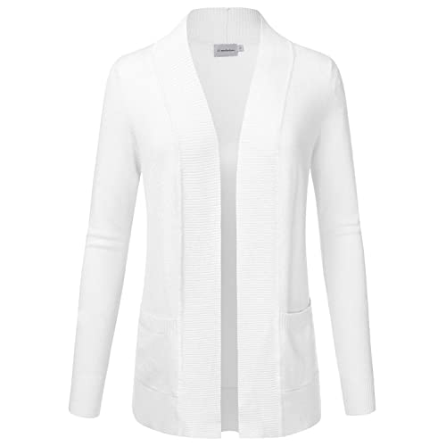 Knit White Sweaters and Cardigans: Amazon.c