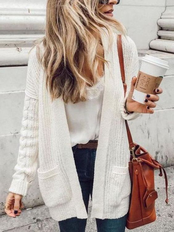 Ways How To Wear Cardigans For Women 2020 - LadyFashioniser.c