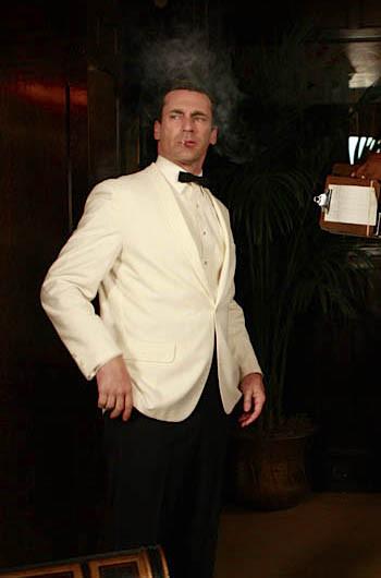 Don Draper's White Dinner Jacket | BAMF Sty