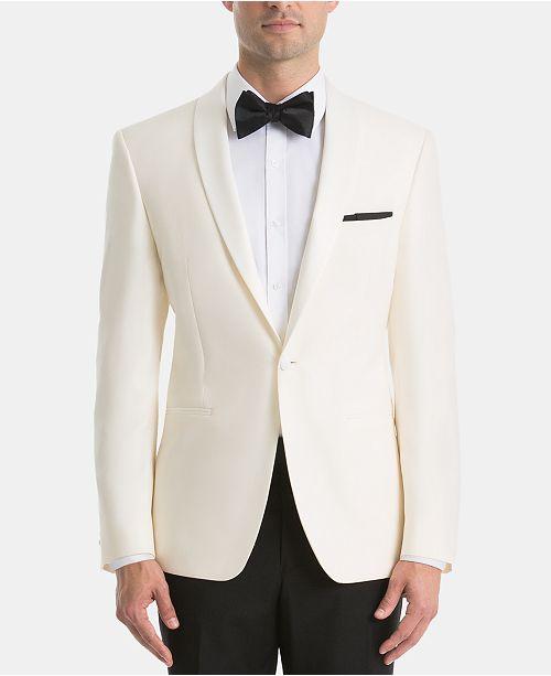 Lauren Ralph Lauren White Dinner Jacket Classic-Fit Tuxedo Suit .