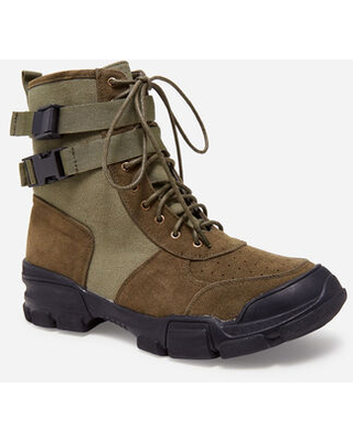 Can't Miss Deals on Combat Wide Width Boots, Olive, 11W - Ashley .