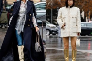 Winter Fashion Trends - Best dresses for winter, winter boots .