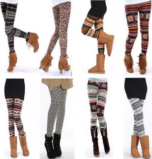outfits+with+leggings | leggings fashion clothes outfits patterned .