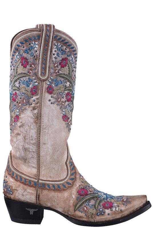 Lane Flower Cowboy Boots | Shop Women's Floral Cowboy Boots at .