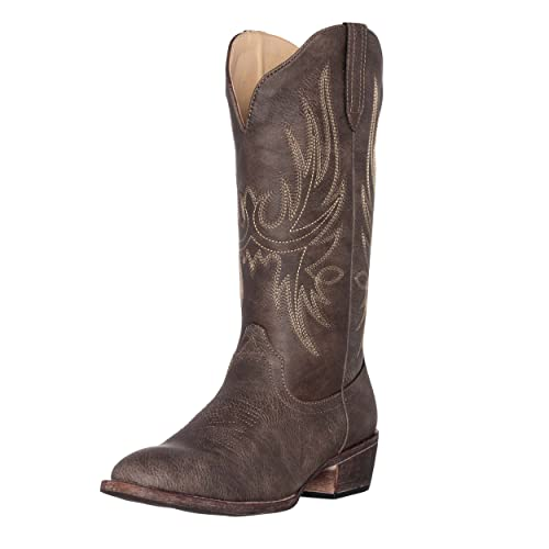 Synthetic Women's Cowboy Boots: Amazon.c