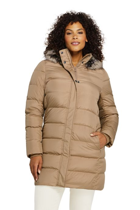 Plus Size Down Coats With Hood, Plus Size Winter Coats, Warm Down .
