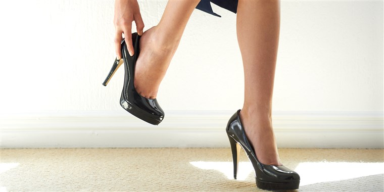 Japanese women fight rules that requires high heels at wo