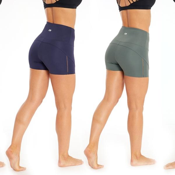 Up To 60% Off on Marika Women's High Waist Shorts | Groupon Goo