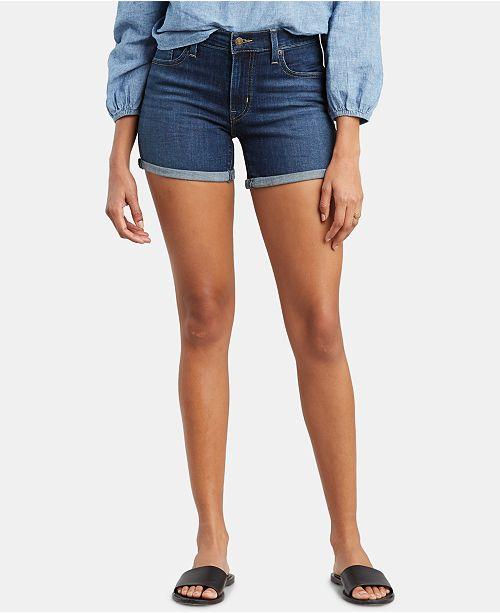 Levi's Women's Mid-Length Shorts & Reviews - Women - Macy
