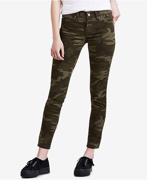Levi's Women's 711 Camo-Print Skinny Ankle Jeans & Reviews - Women .
