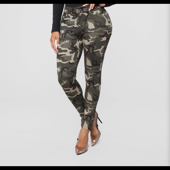 Fashion Nova Pants | Womens Camo | Poshma