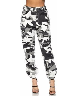 Amazing Deal on Womens Military Look Comfortable Camouflage Cargo .