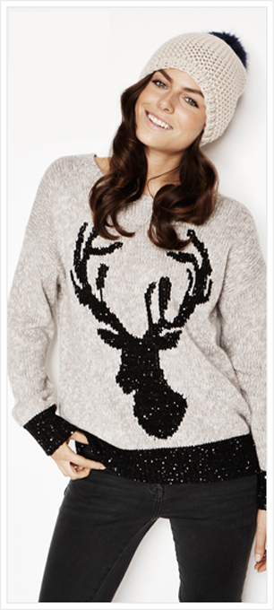Novelty Christmas Jumpers From George | StyleNe