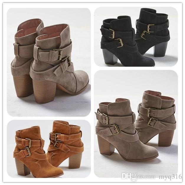 Women Boots New Women Fashion Cross Bandage Boots Lady Girls .