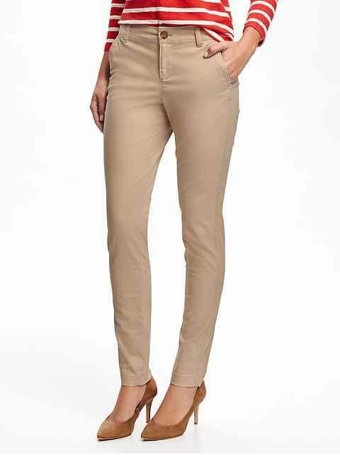 Most Comfortable Womens Khaki Pants | Khaki pants women, Skinny .