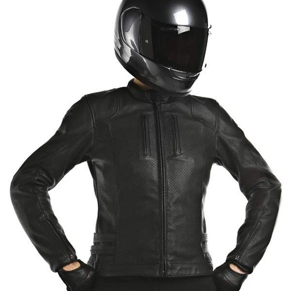 alpine stars Jackets & Coats | Womens Leather Motorcycle Jacket .
