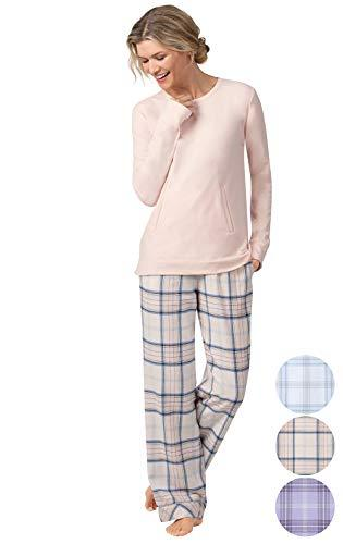 Addison Meadow Flannel Pajamas Women - Womens Pajama Sets, Frosted F