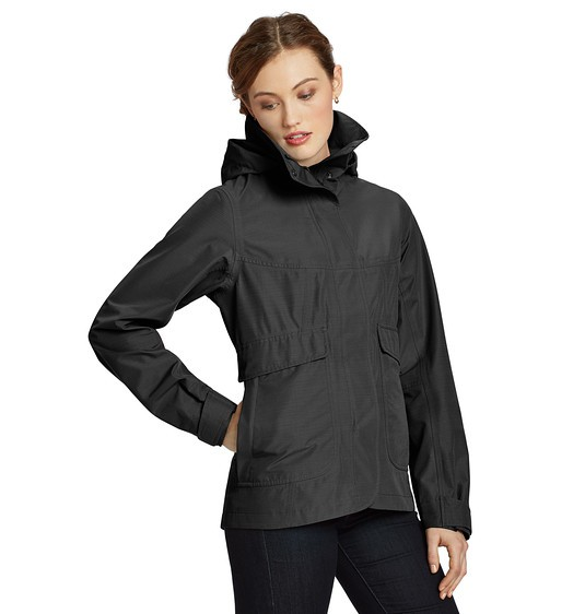 Why are women's rain jackets so much more stylish than the men's .