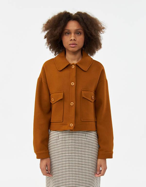 Rita Row Cropped Wool Jacket | Need Supply C