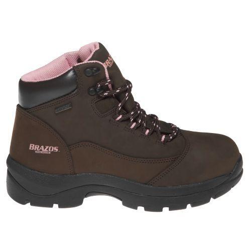 Brazos Women's Nubuck ST Waterproof Work Boots | Work boo