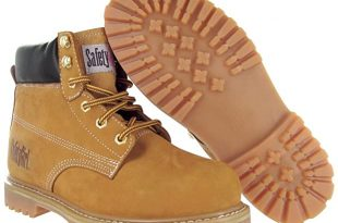 Amazon.com: Safety Girl II Womens Work Boots - Tan Steel Toe .