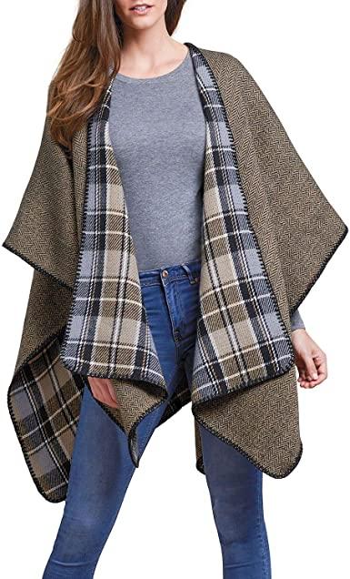 Amazon.com: Woolrich Reversible Blanket Wrap: Clothi