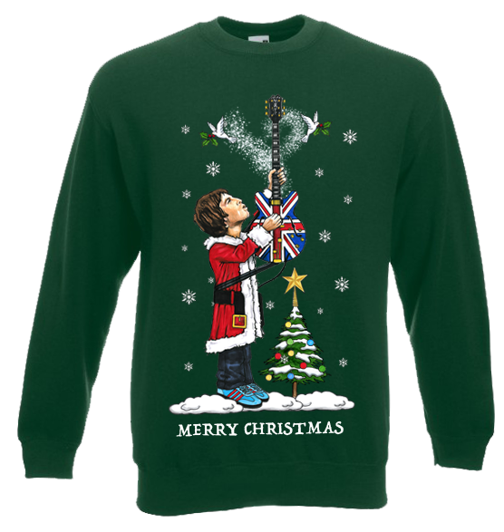 Noel Gallagher Christmas Jumper | Mark Reynolds | MR A