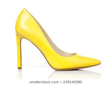 Yellow Heels Images, Stock Photos & Vectors | Shuttersto